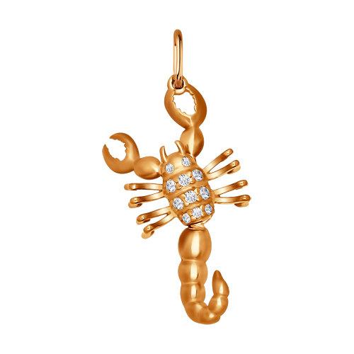 Pandativ 'Scorpion' cu fianite