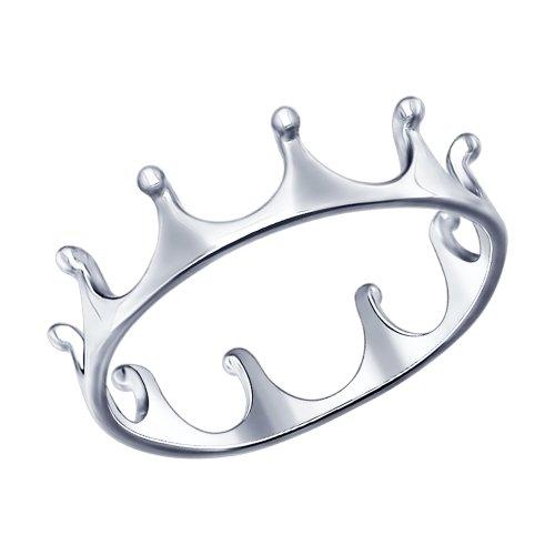 Inel coroana din argint