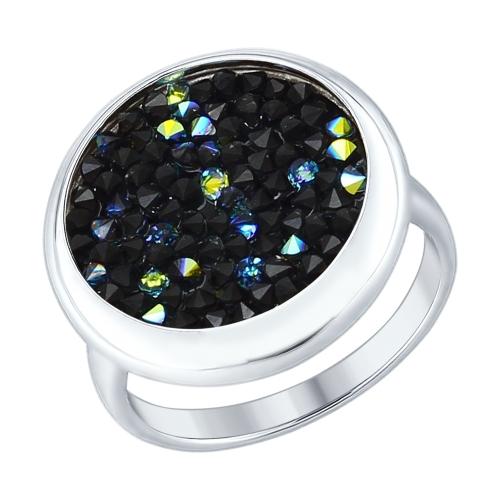 Inel din argint cu cristal Swarovski
