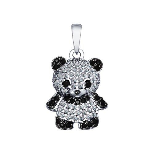 Pandantiv 'Panda' din argint